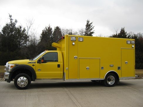 Super Warrior Osage Type I Ambulances