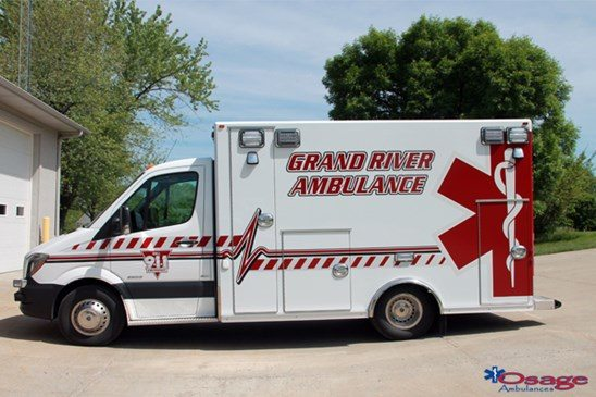 Brave Osage Type III Ambulances