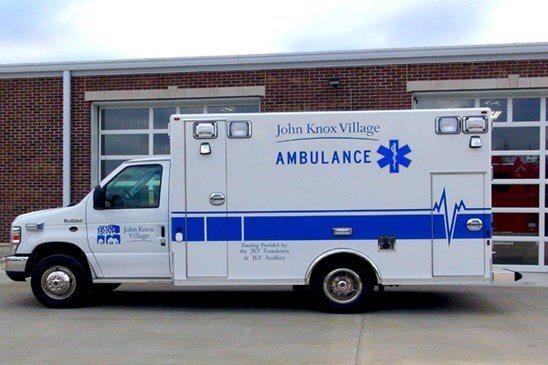 Warrior Osage Type III Ambulances