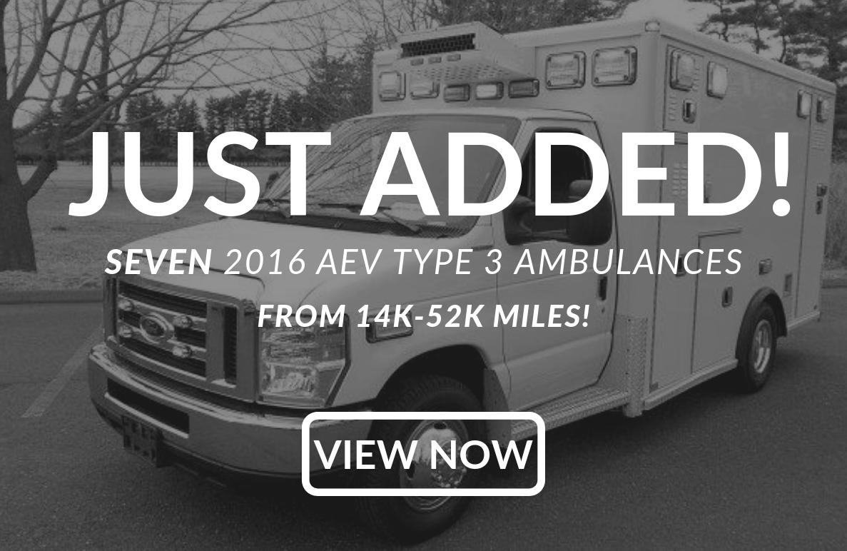 Used Ambulances for Sale – Ambunet