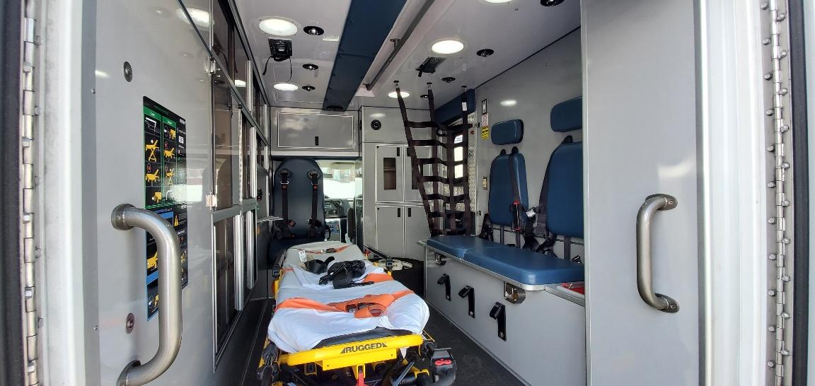 2016 Ford E350 Gas Type 3 AEV Ambulance 07