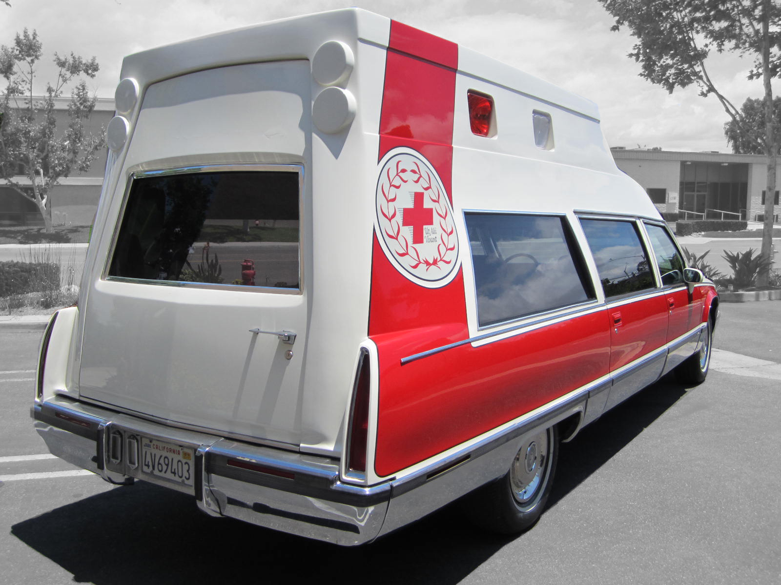 1993 Cadiilac Fleetwood Ambulance For Sale 002